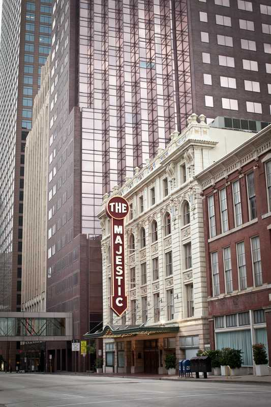 The Majestic Theatre in downtown Dallas