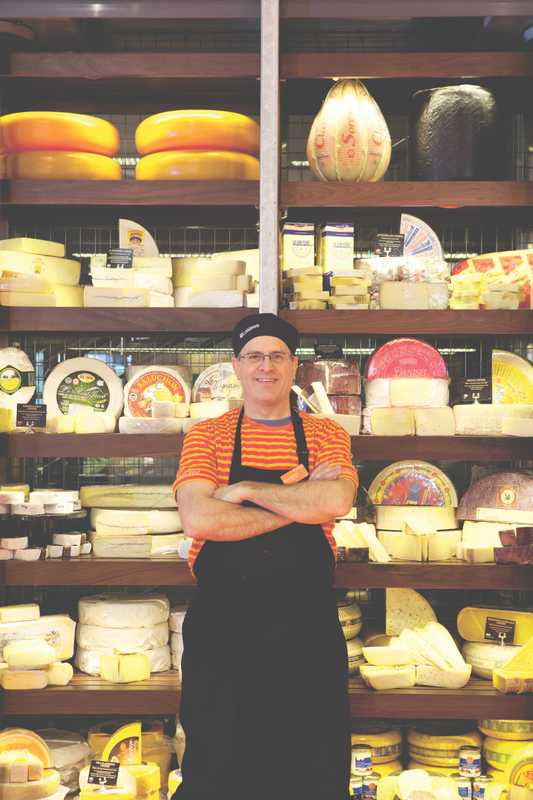 Knowledgeable staff help you navigate over 400 varieties of cheese