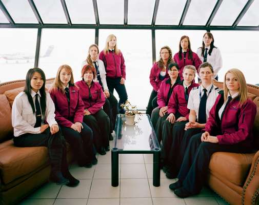 Women pilots and students