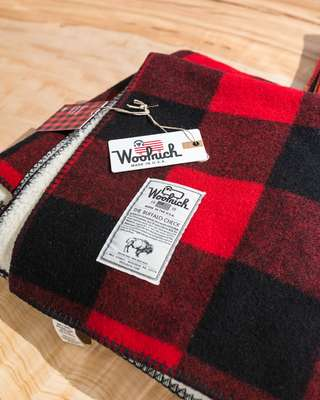 Woolrich's iconic buffalo check