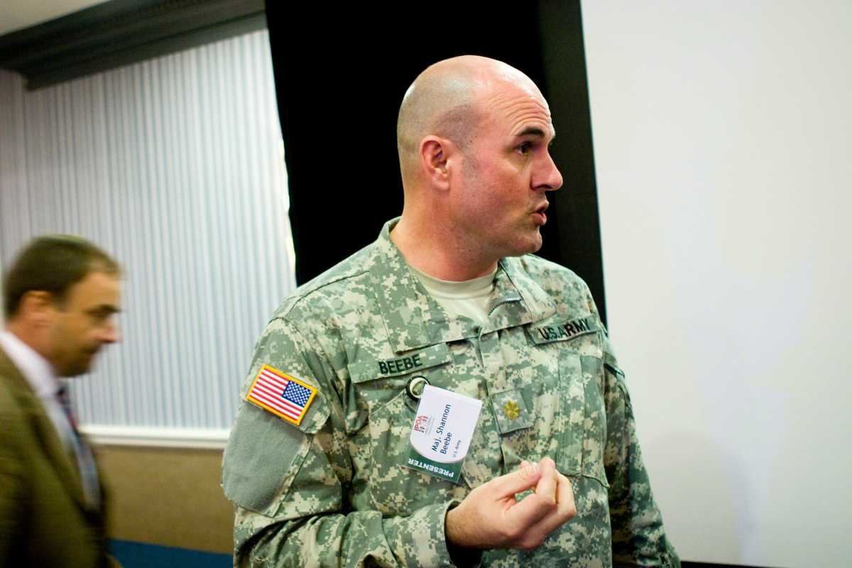 Major Shannon Beebe