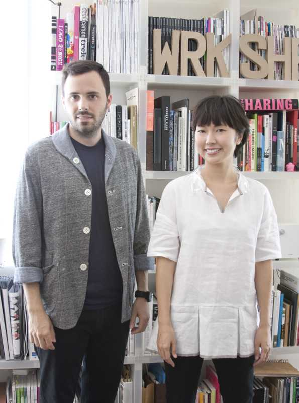 Airi Isoda and Ryan Upton of wrk-shp