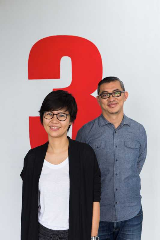 Nopneera Rugsasook, managing director Yindee Design, and Anuchit Panyawatchara, director of possibilities