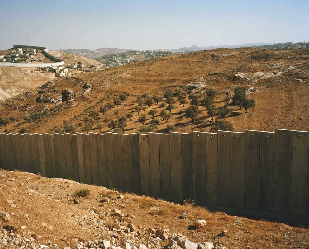 """Separation wall"", West Bank"