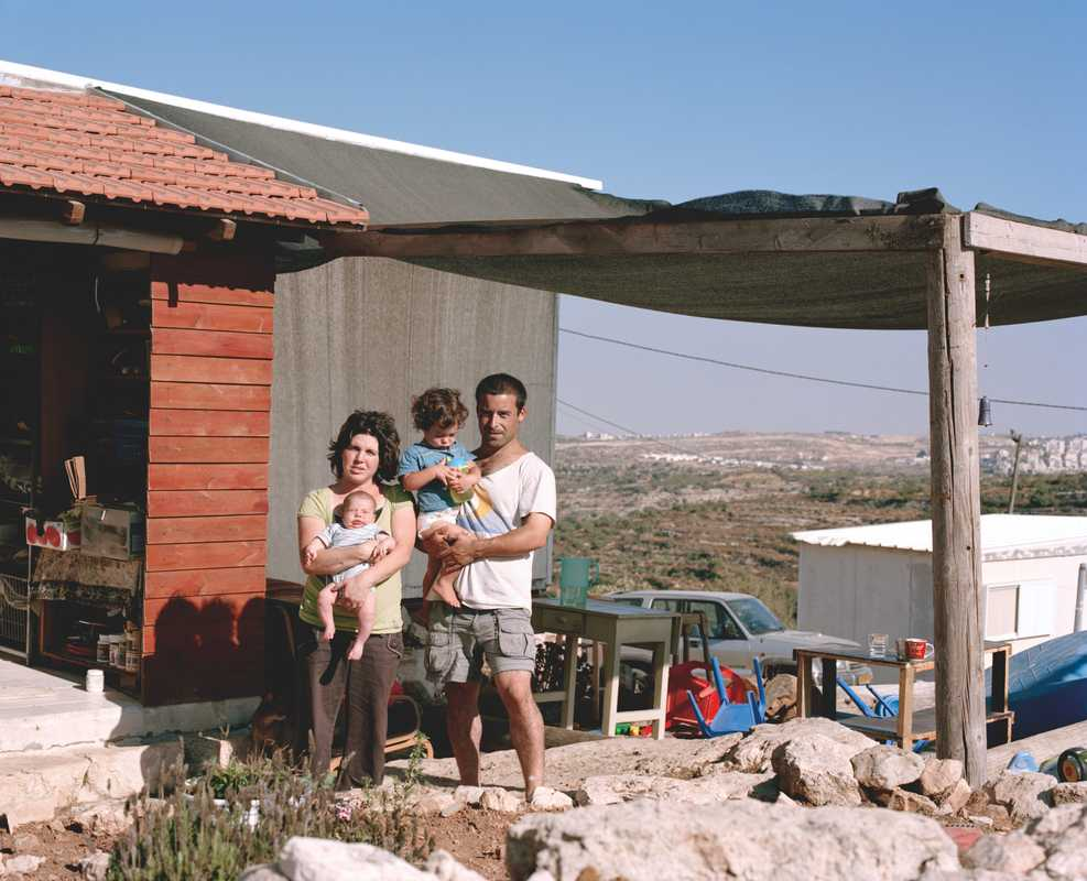 The Miar family on the unauthorised Jewish settlement of Sde Boaz in the West Bank
