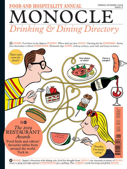 The Monocle Drinking & Dining Directory cover