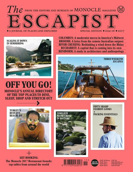 Cover shot of The Escapist 2017