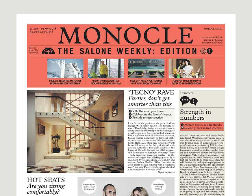 Newspaper  Monocle