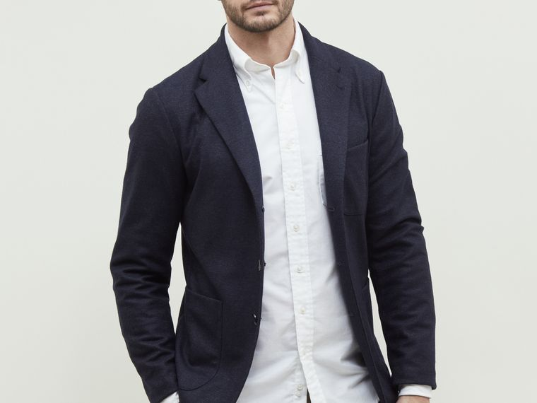 Travel suit blazer