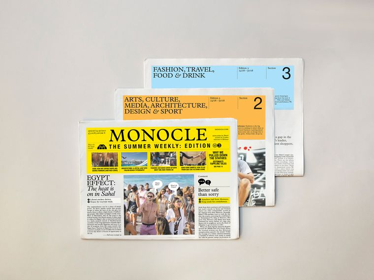 Monocle – The Summer Weekly: issue three