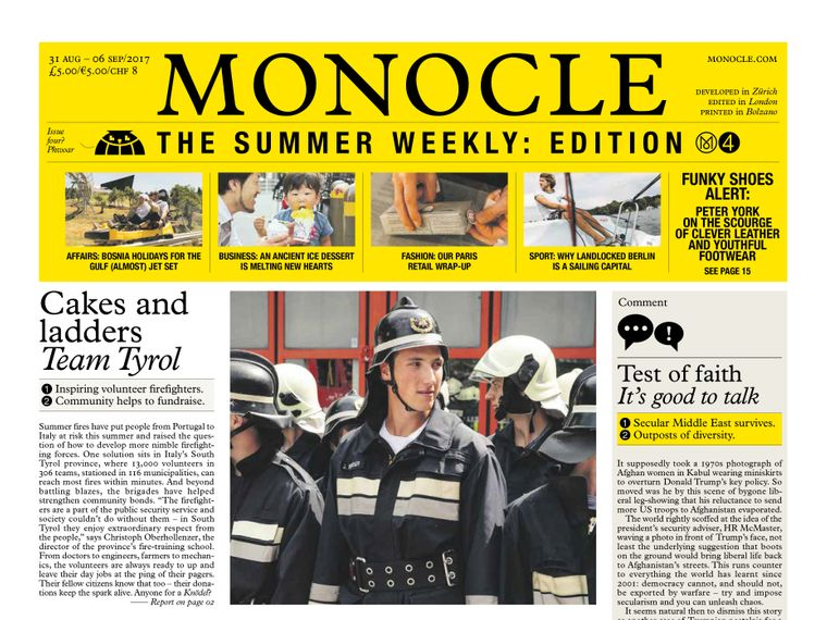 Monocle – The Summer Weekly: issue four