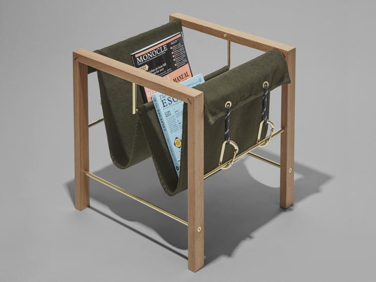 Monocle magazine rack home office shop monocle for Magazine racks for home