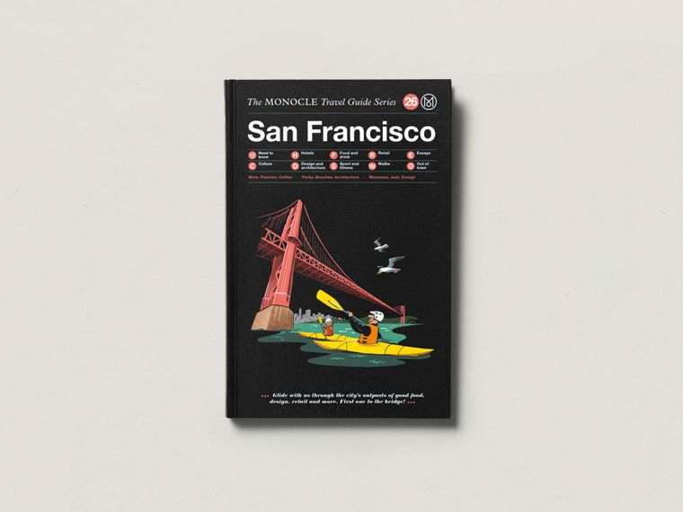 The monocle travel guide san francisco books shop for Travel guide san francisco