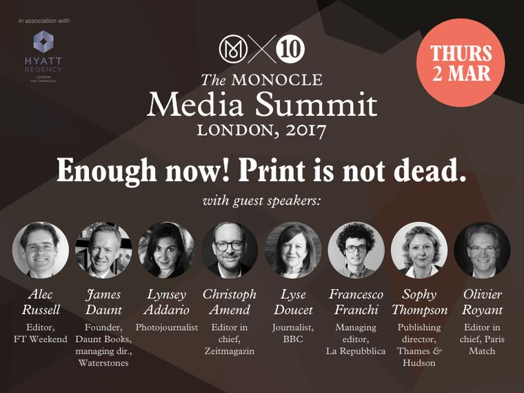 The Monocle Media Summit