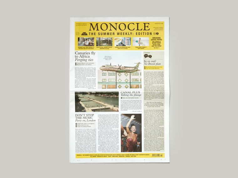 Monocle – The Summer Weekly: issue two