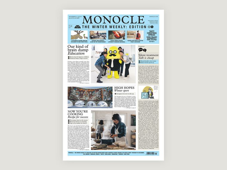 Newspaper Bundle  The Monocle Winter Weekly  Magazine  Shop  Monocle