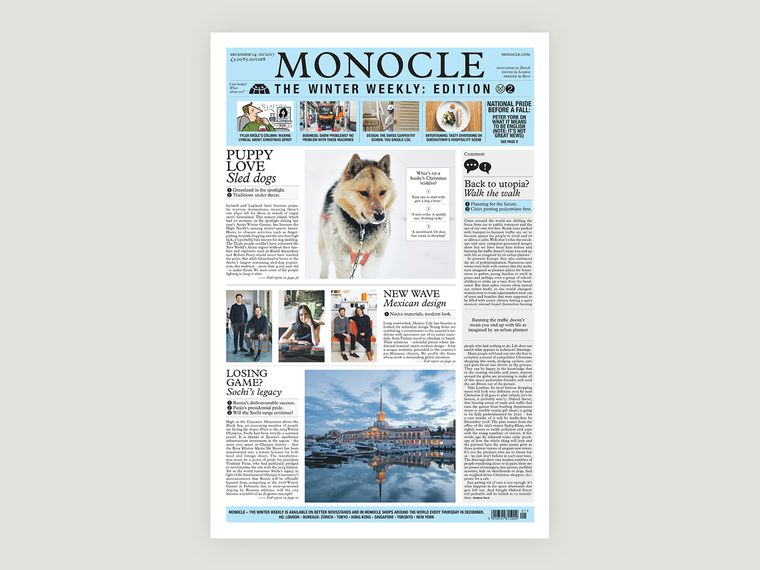 Monocle – The Winter Weekly: issue two