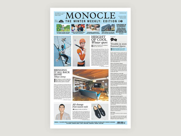 Monocle – The Winter Weekly: issue three