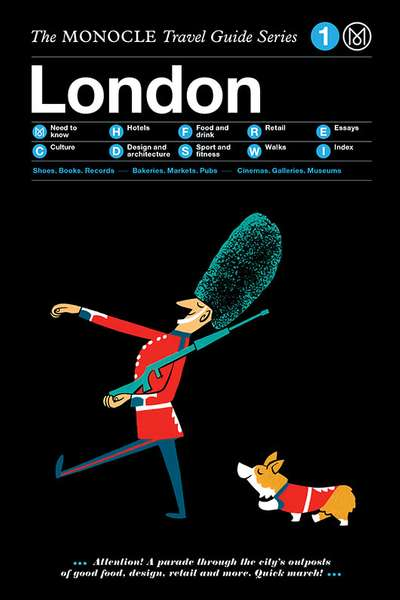 Book jacket image for the London travel guide