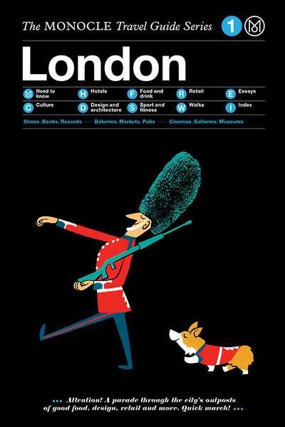 Book Cover Design London : Travel monocle