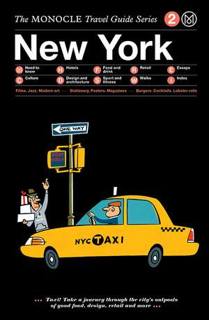 Book jacket image for the New York travel guide