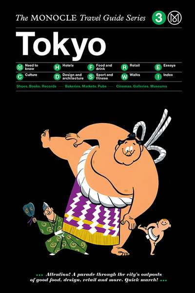 Book jacket image for the Tokyo travel guide