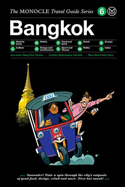 Book jacket image for the Bangkok travel guide