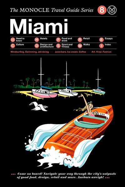 Book jacket image for the Miami travel guide