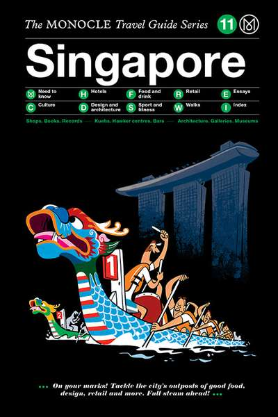 Book jacket image for the Singapore travel guide