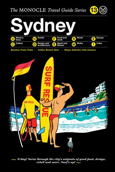 Book jacket image for the Sydney travel guide