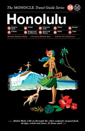 Book jacket image for the Honolulu travel guide