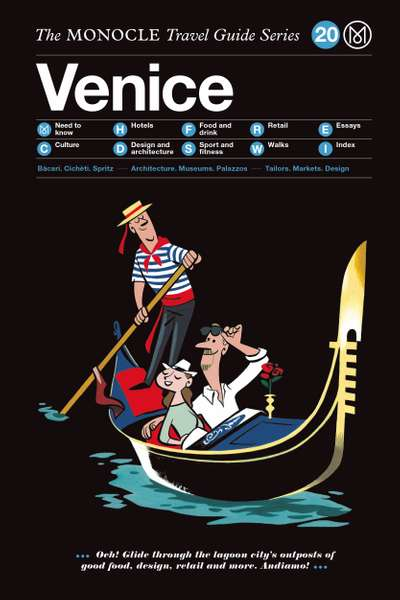 Book jacket image for the Venice travel guide