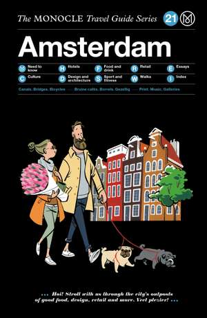 Book jacket image for the Amsterdam travel guide