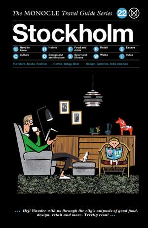 Book jacket image for the Stockholm travel guide