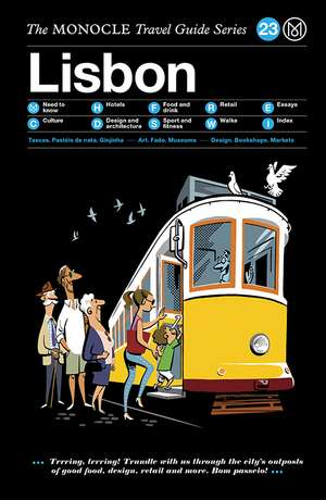 Book jacket image for the Lisbon travel guide