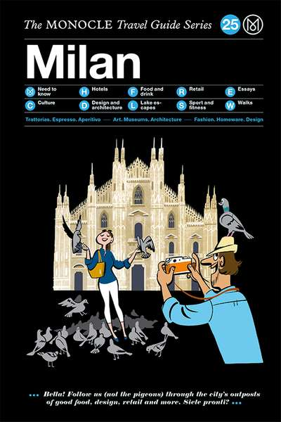 Book jacket image for the Milan travel guide