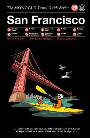Book jacket image for the San Francisco travel guide