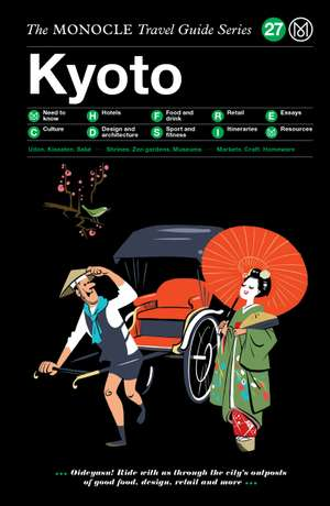 Book jacket image for the Kyoto travel guide