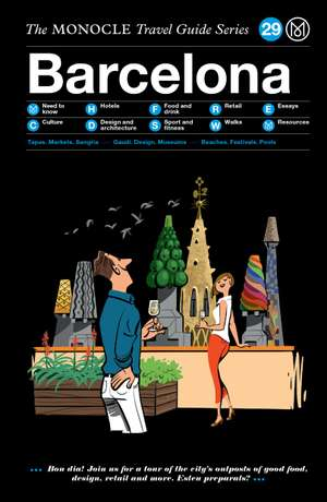 Book jacket image for the Barcelona travel guide