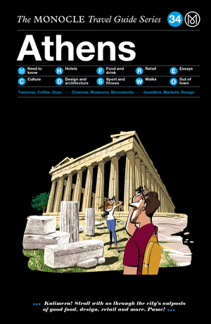 Book jacket image for the Athens travel guide