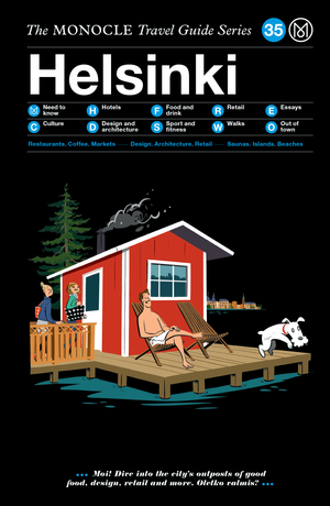 Book jacket image for the Helsinki travel guide