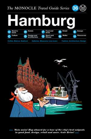 Book jacket image for the Hamburg travel guide