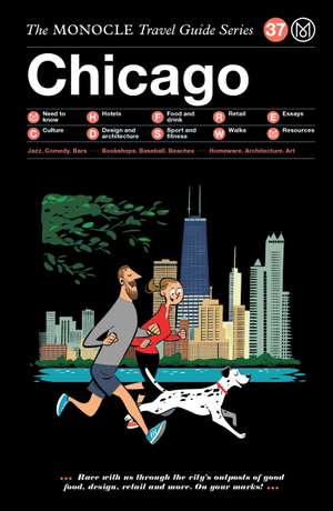 Book jacket image for the Chicago travel guide