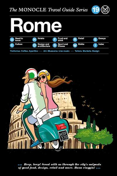 Book jacket image for the Rome travel guide
